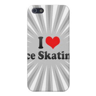 I love Ice Skating iPhone 5 Case