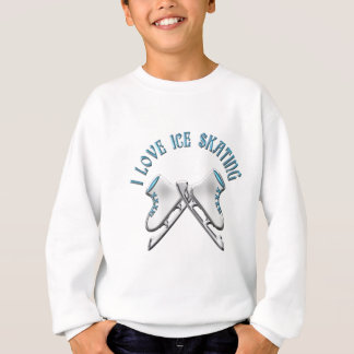 I Love Ice Skating Sweatshirt