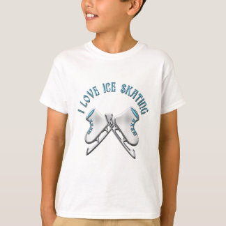 I Love Ice Skating T-Shirt