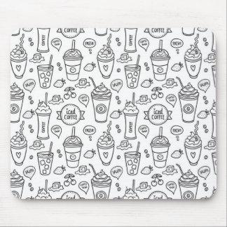 I love iced coffee mousepad