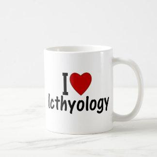I Love Icthyology Basic White Mug