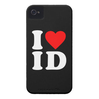 I LOVE ID iPhone 4 Case-Mate CASE
