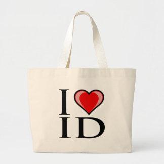 I Love ID - Idaho Tote Bags