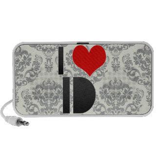 I Love ID Laptop Speakers