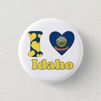 I love Idaho 3 Cm Round Badge