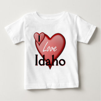 I Love Idaho Baby T-Shirt