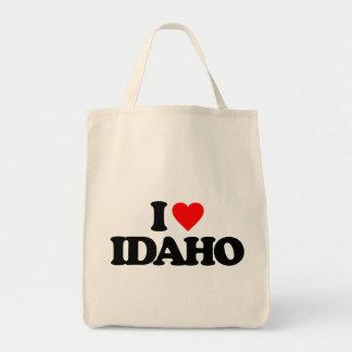 I LOVE IDAHO CANVAS BAG