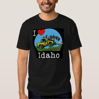 I Love Idaho Country Taxi T Shirt