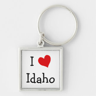 I Love Idaho Key Ring