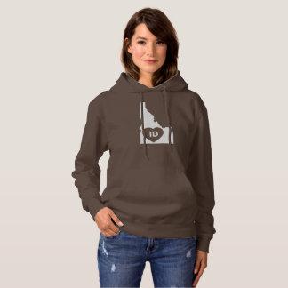 I Love Idaho State Women's Swatshirt Hoodie