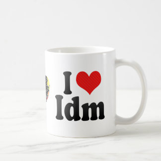 I Love Idm Coffee Mug
