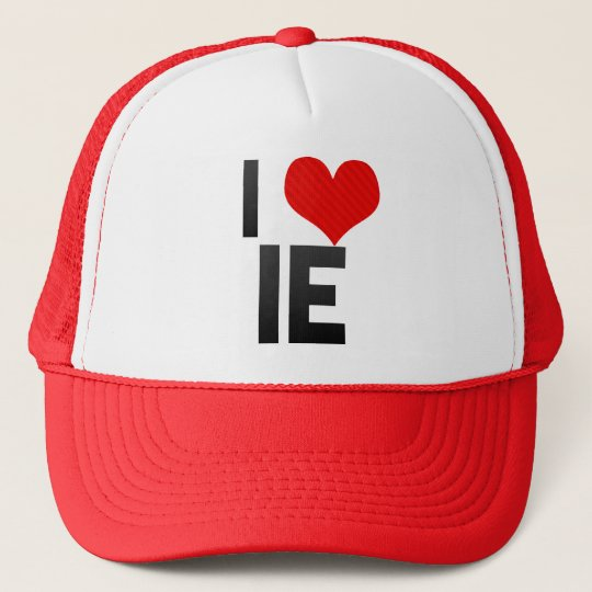 I Love IE Cap