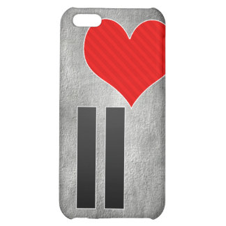 I Love II Case For iPhone 5C