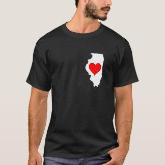I Love Illinois T-Shirt