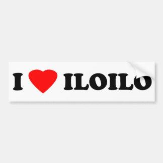 I Love Iloilo Bumper Sticker