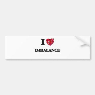 I Love Imbalance Bumper Sticker