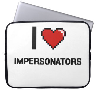 I love Impersonators Laptop Sleeve