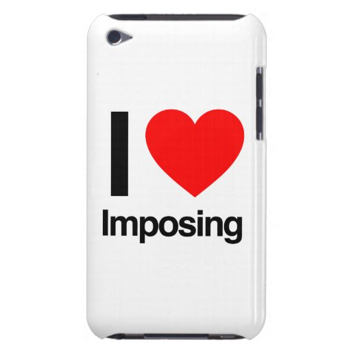 i love imposing iPod Case-Mate cases
