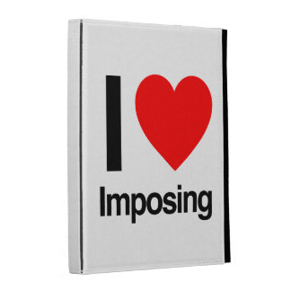 i love imposing iPad folio covers
