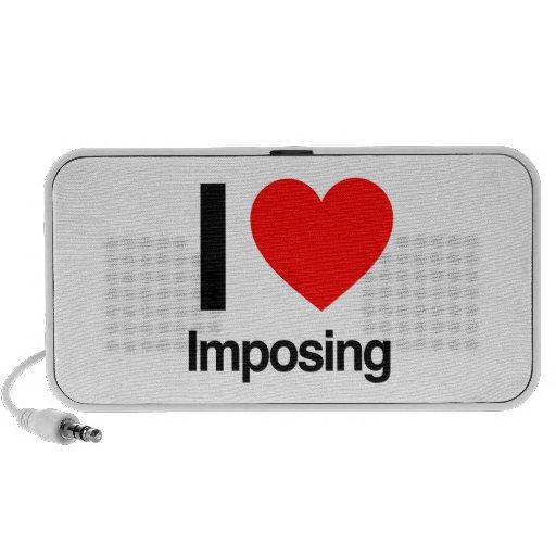 i love imposing travelling speaker