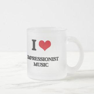 I Love IMPRESSIONIST MUSIC Coffee Mugs