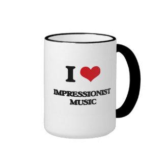 I Love IMPRESSIONIST MUSIC Mug