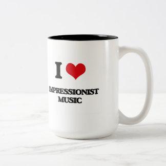 I Love IMPRESSIONIST MUSIC Coffee Mug