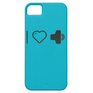 I Love Increased Volumes iPhone 5 Cover