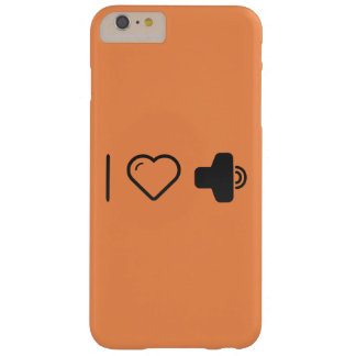 I Love Increased Volumes Barely There iPhone 6 Plus Case