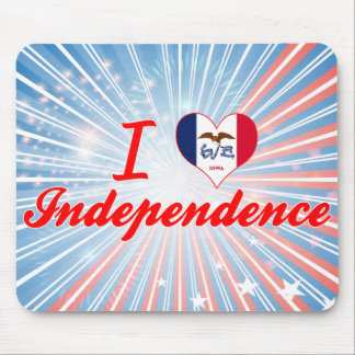 I Love Independence, Iowa Mouse Pads