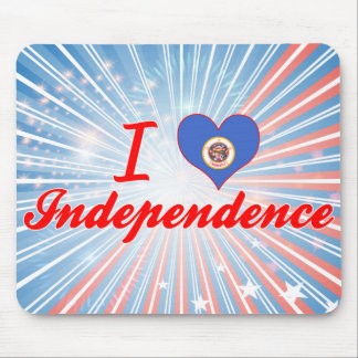 I Love Independence, Minnesota Mouse Pads