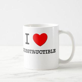 I Love Indestructible Basic White Mug