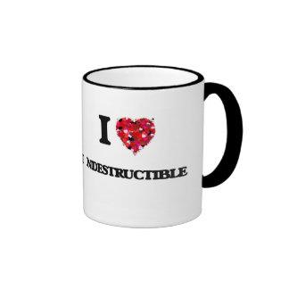 I Love Indestructible Ringer Mug