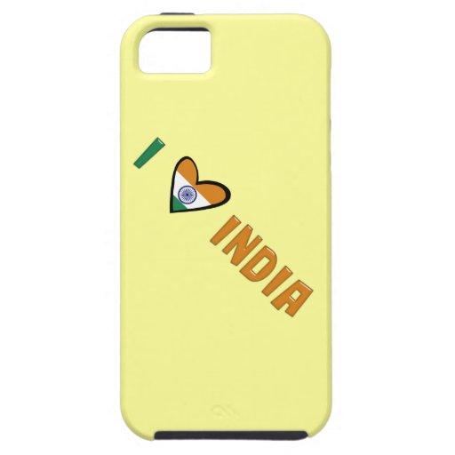 I Love India iPhone 5 Covers