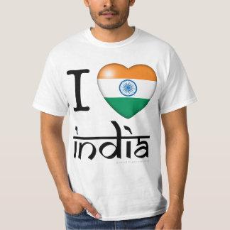 I Love India Shirt