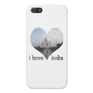 I Love India with Taj Mahal iPhone 5/5S Case