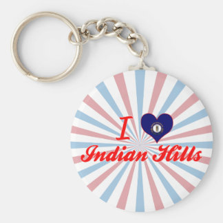 I Love Indian Hills, Kentucky Key Chains