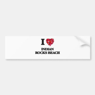 I love Indian Rocks Beach Florida Bumper Sticker