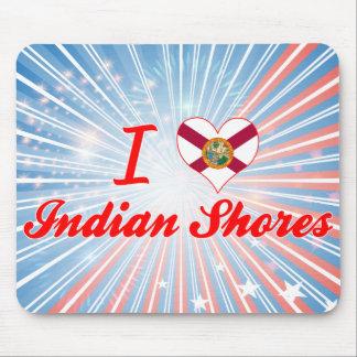 I Love Indian Shores, Florida Mousepads