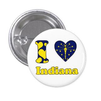 I love Indiana Pin