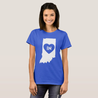 I Love Indiana State Women's Basic T-Shirt