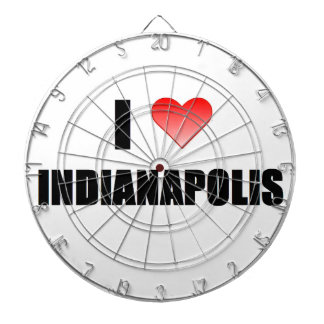 I Love Indianapolis Dartboards