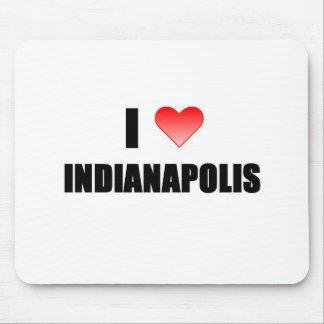 I Love Indianapolis Mousepad