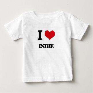 I Love INDIE Baby T-Shirt