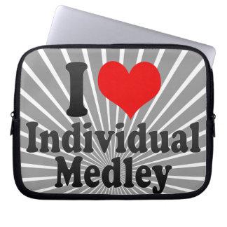 I love Individual Medley Computer Sleeve