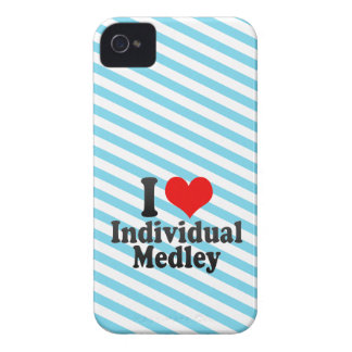 I love Individual Medley iPhone 4 Case