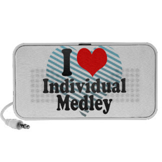 I love Individual Medley iPod Speaker