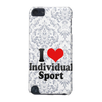 I love Individual Sport iPod Touch (5th Generation) Cases