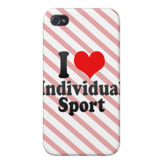 I love Individual Sport Cases For iPhone 4