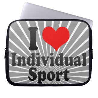I love Individual Sport Computer Sleeve